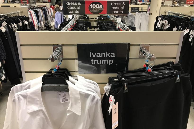 b0d6bee282ac5 Ivanka Trump Clothing Sale: TJ Maxx, Others Stop Promoting Ivanka's  Products, New Yorkers Show Support