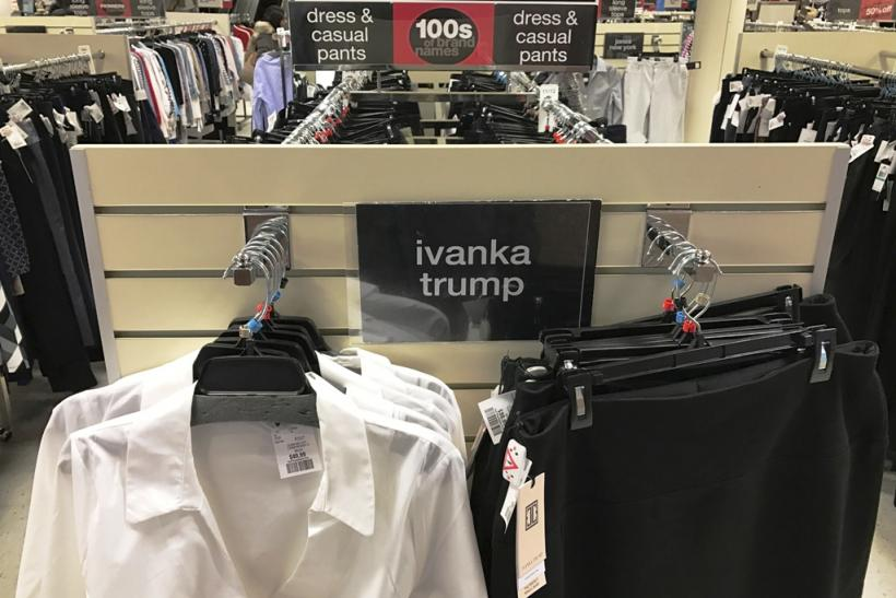 Ivanka Trump clothing sale