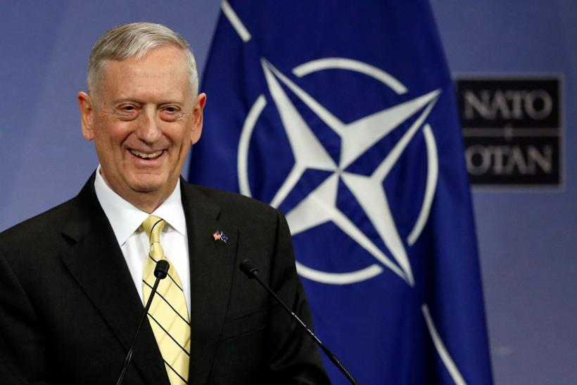 Jim Mattis press