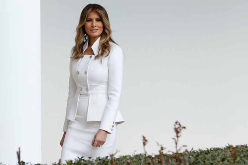 An Israeli model is cashing in on Melania Trump impersonations.