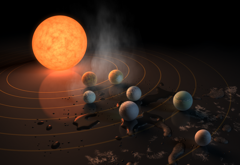 NASA's Kepler Observes TRAPPIST-1: First Images Of Red Dwarf Show Dips In Star's Light Output