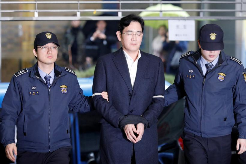 Samsung chief arrested