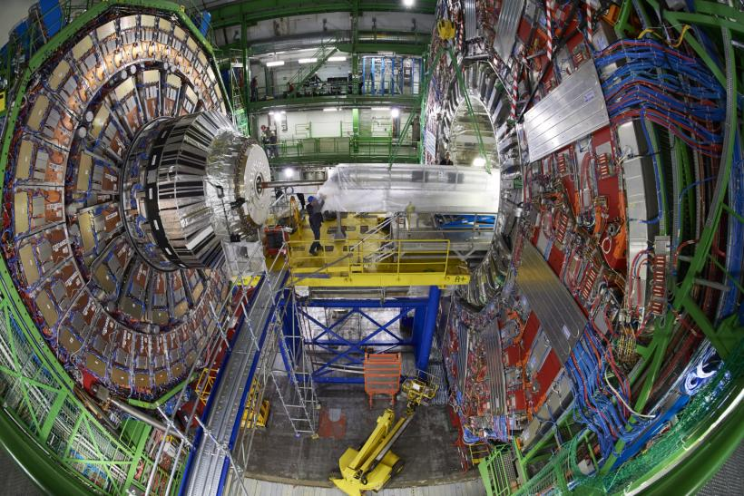 Cern Lhc Update Large Hadron Collider Experiment Gets A