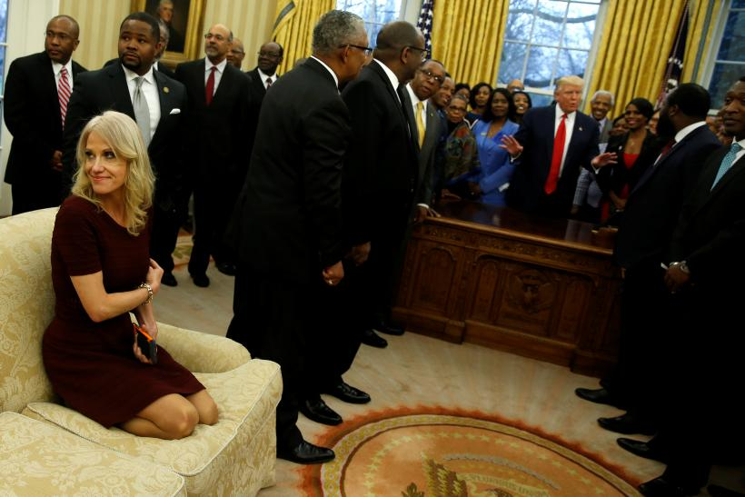 Kellyanne Conway Couch Incident Update: Rep. Cedric Richmond Apologizes For  Sexist Sofa Joke