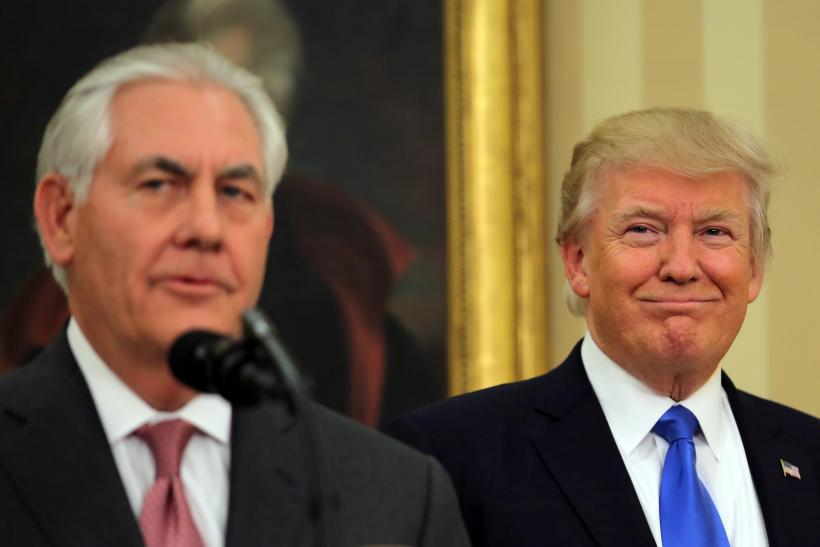 Image result for trump and tillerson on north korea