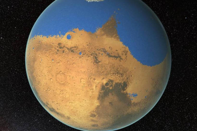Water On Mars: Researchers Link Lomonosov Crater To Ancient Martian