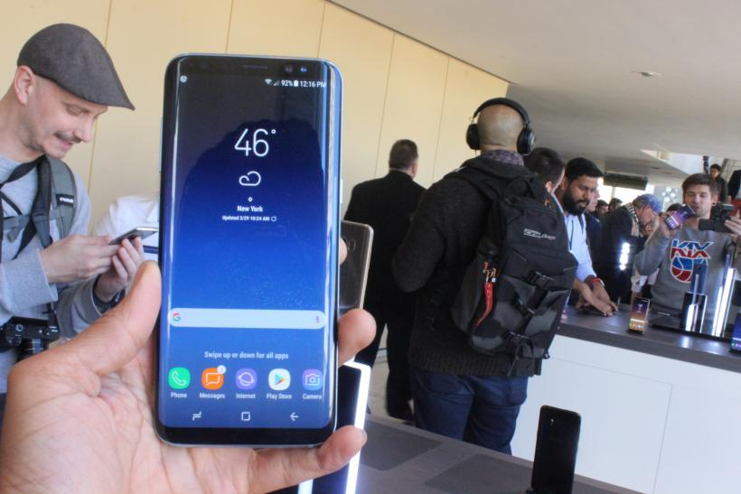 Galaxy S8 Android 7 1 Nougat Update: Download Expected For Samsung