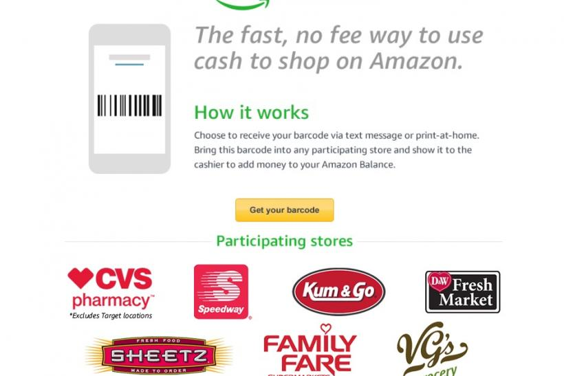 how to use amazon cash make purchases without using credit gift card how to get barcode retailers