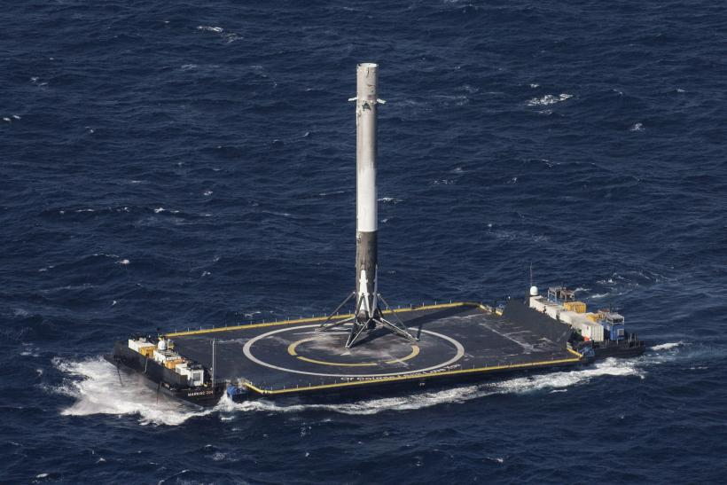SpaceX cargo resupply