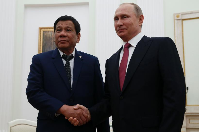 Rodrigo Duterte and Vladimir Putin