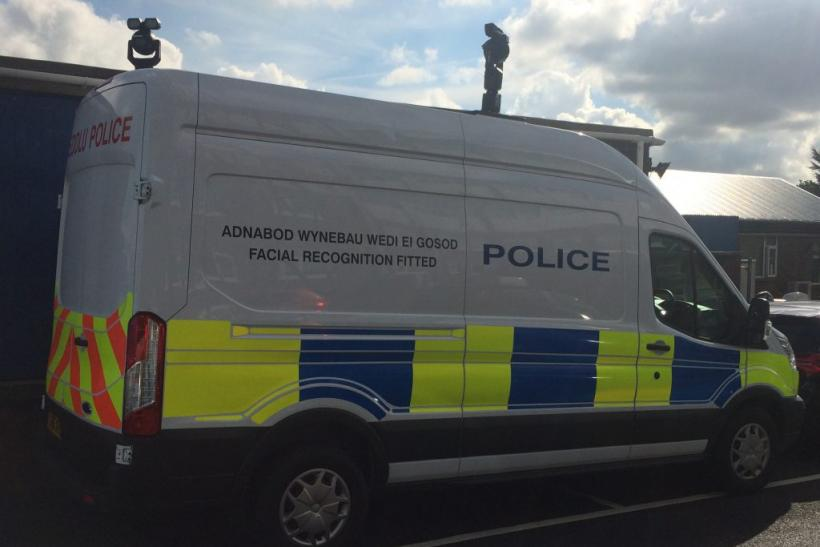 South Wales Police van Facial Recognition
