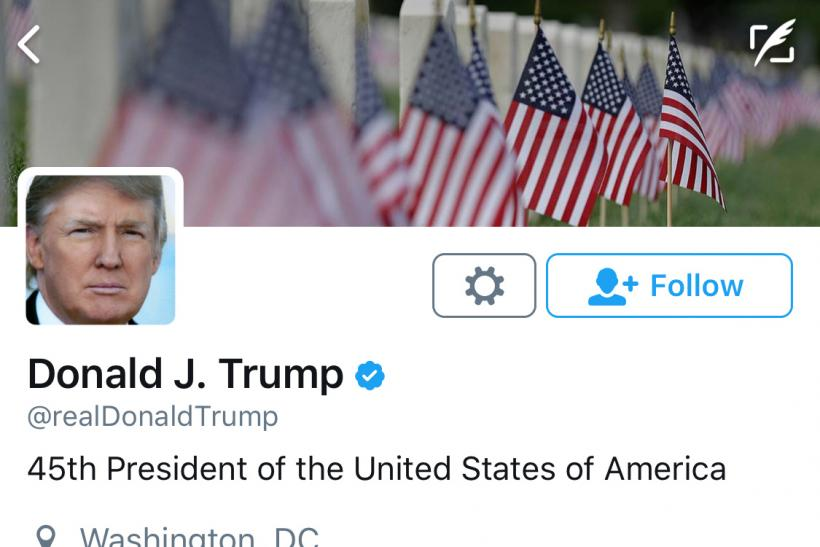 Donald Trump's blocking of Twitter users 'violates US Constitution'