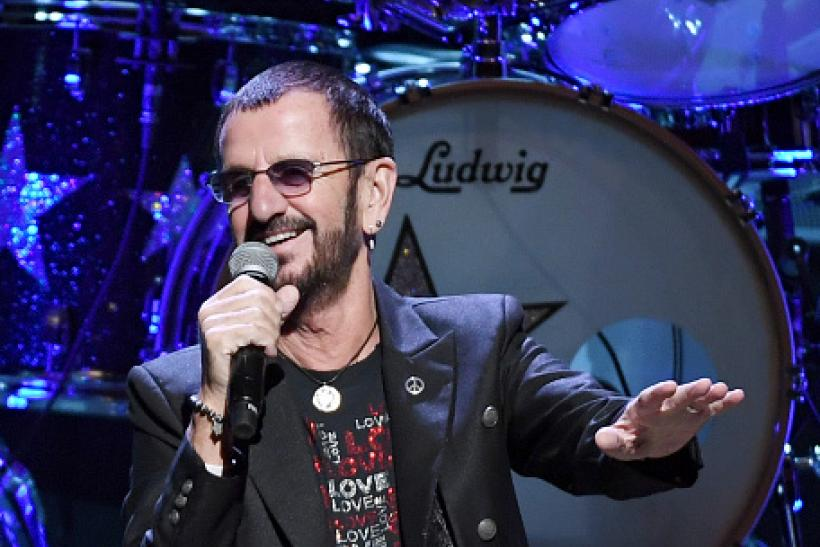 Recording Artist Ringo Starr Performs With His All Band At The Smith Center For Performing Arts On November 13 2016 In Las Vegas