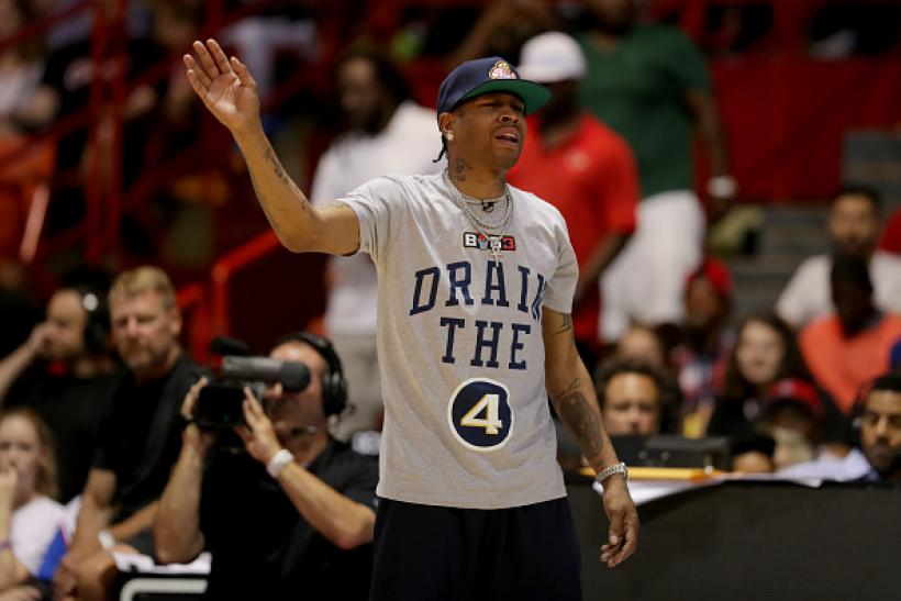 new concept bf63c a3a68 Allen Iverson Suspended By Big3 For Absence, Pictures Showed ...