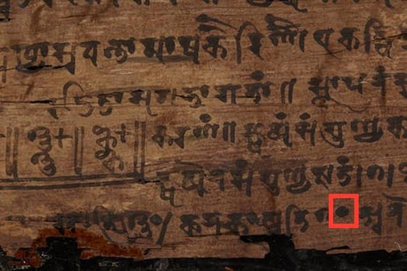 First Zero Ever Written Scientists Argue Over Ancient Indian Math