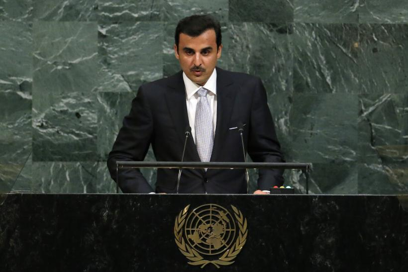 Qatar Emir Sheikh Tamim bin Hamad al-Thani at the UN
