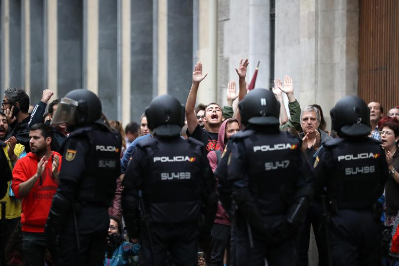 Independence Referendum Takes Place In Catalonia