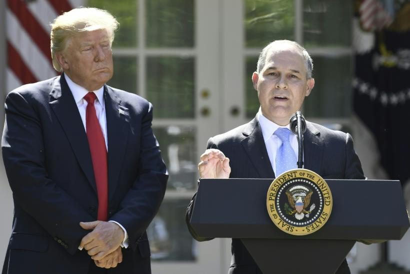 Trump, EPA Scott Pruitt, Paris Accord