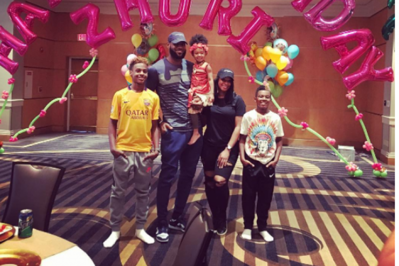 Lebron James Throws Extravagant Party For Daughter S Third