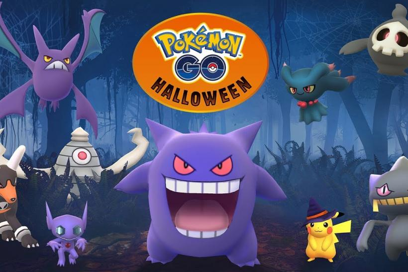 pok mon go halloween event changes corsola spawns where to find one. Black Bedroom Furniture Sets. Home Design Ideas