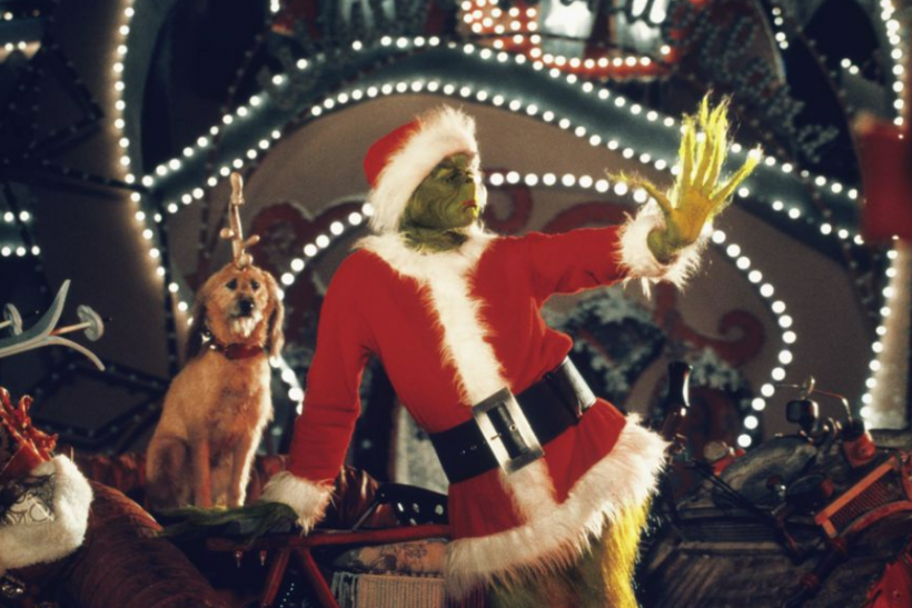 jim carrey as the grinch in how the grinch stole christmas photo melinda sue gordonuniversal studios