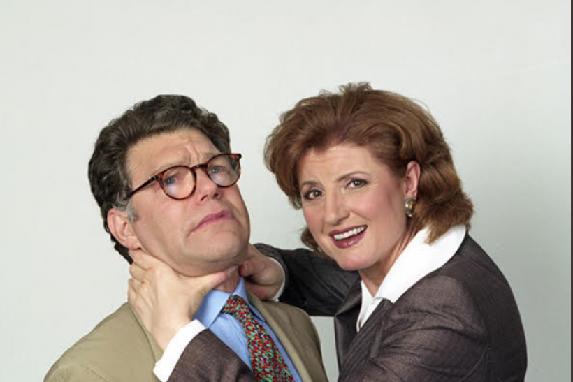 Arianna Huffington Denies Article That Claims Al Franken Groped Her