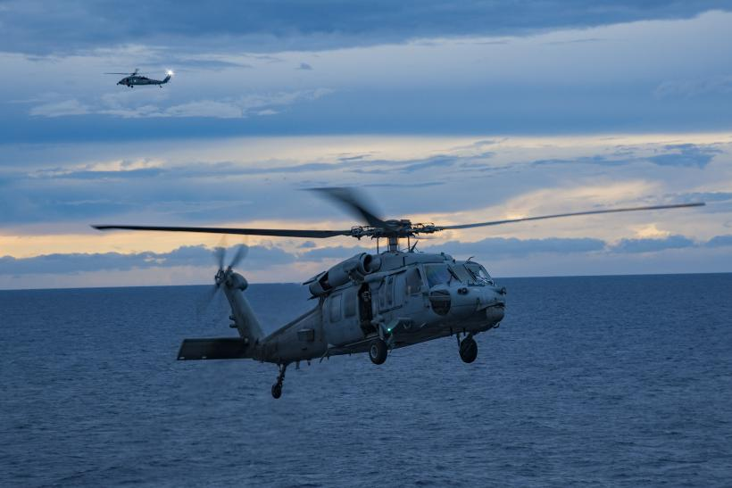 US Navy Aircraft Carrying 11 Crew And Passengers Crashes In Philippine Sea