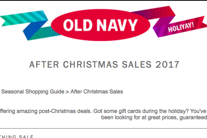 after christmas sales old navy clothes amazon gadget price discounts - Amazon Christmas Sale