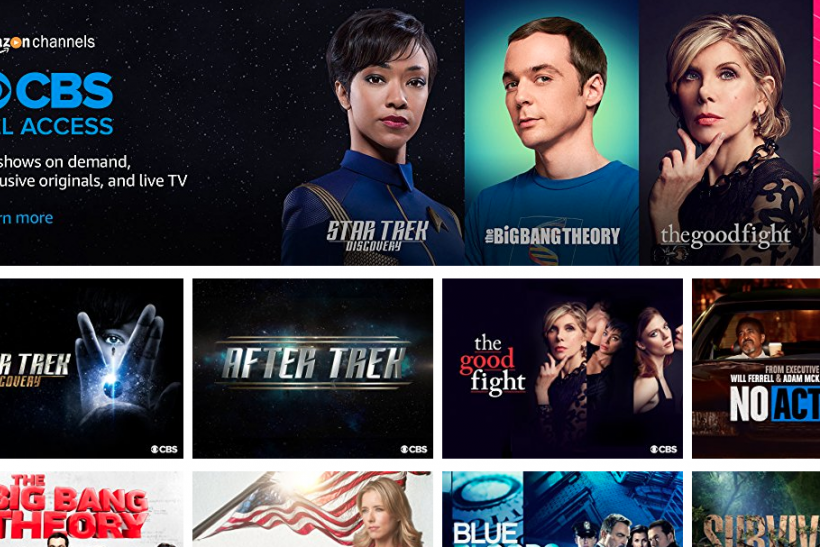 Amazon Channels Prime List: Platform Adds CBS All Access For