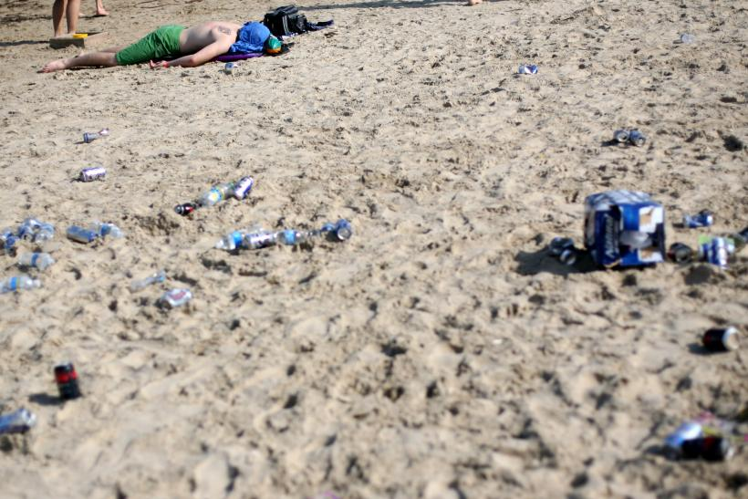 High Levels Of Matter Reported On Texas Beaches Ahead Spring Break