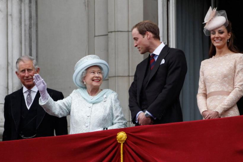 Prince Charles, Queen Elizabeth II and Prince William