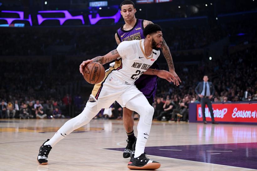 Anthony Davis Pelicans Lakers