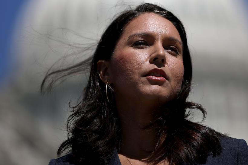 Rep. Gabbard Won't Call Syria's Assad a US Adversary