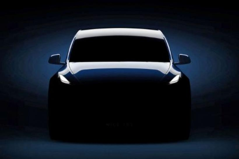 A Low-Key Elon Musk Unveils the Tesla Model Y Crossover SUV