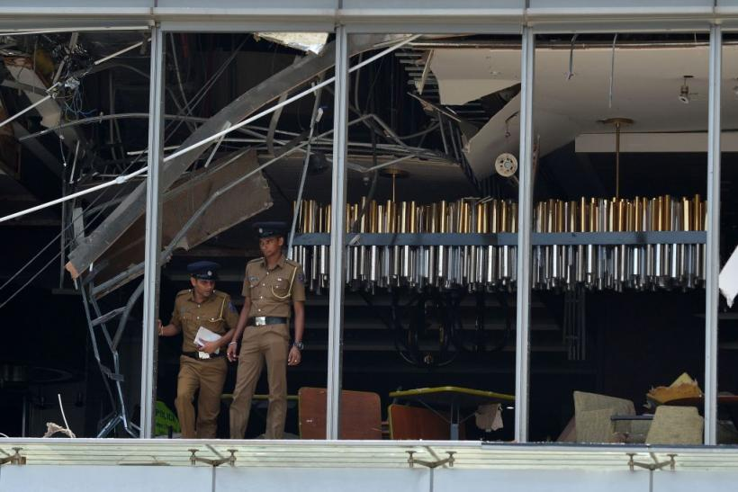 Easter Sunday suicide bombings Colombo