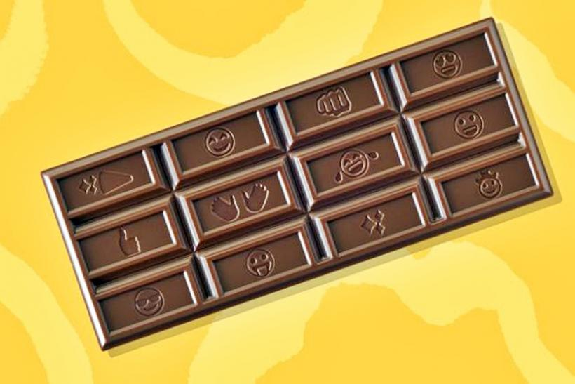 Hershey's emoji milk chocolate bar