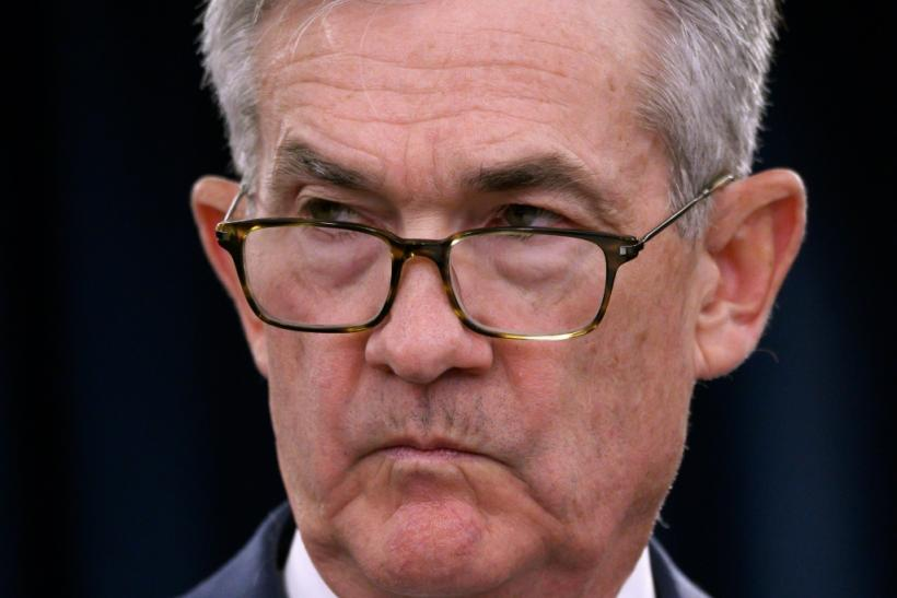 "Last week, the president branded Fed chief Jerome Powell, pictured in July 2019, ""clueless,"" and tweeted in all caps: ""CRAZY INVERTED YIELD CURVE!"""