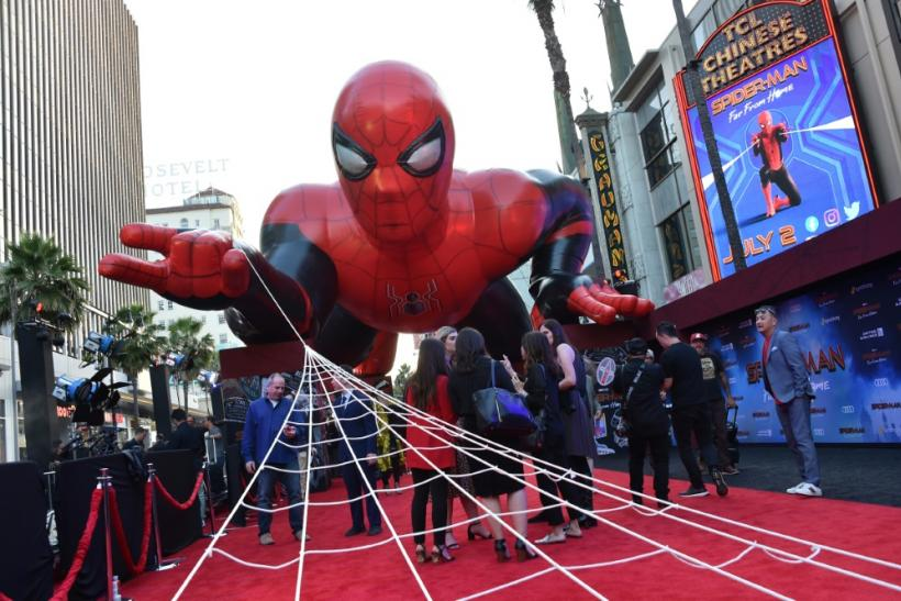 """Tom Holland's Spider-Man took the starring role in the Marvel Cinematic Universe's most recent outing, """"Spider-Man: Far From Home"""""""