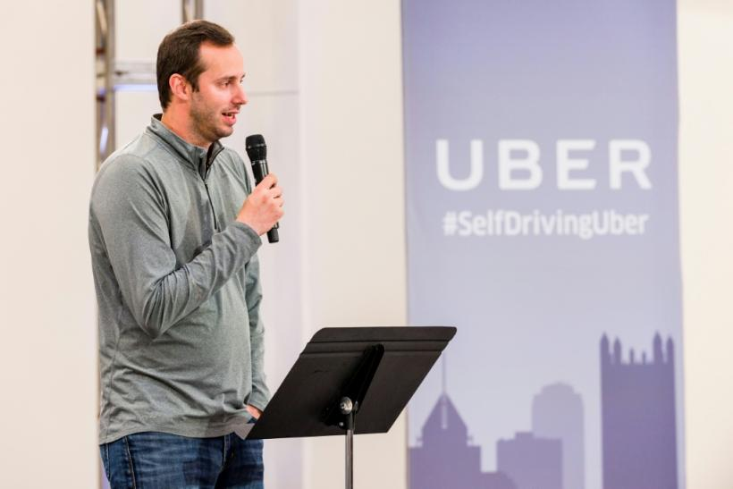 Anthony Levandowski, seen in a 2016 photo during his time at Uber, faces a criminal indictment alleging he stole trade secrets from Google's autonomous car project