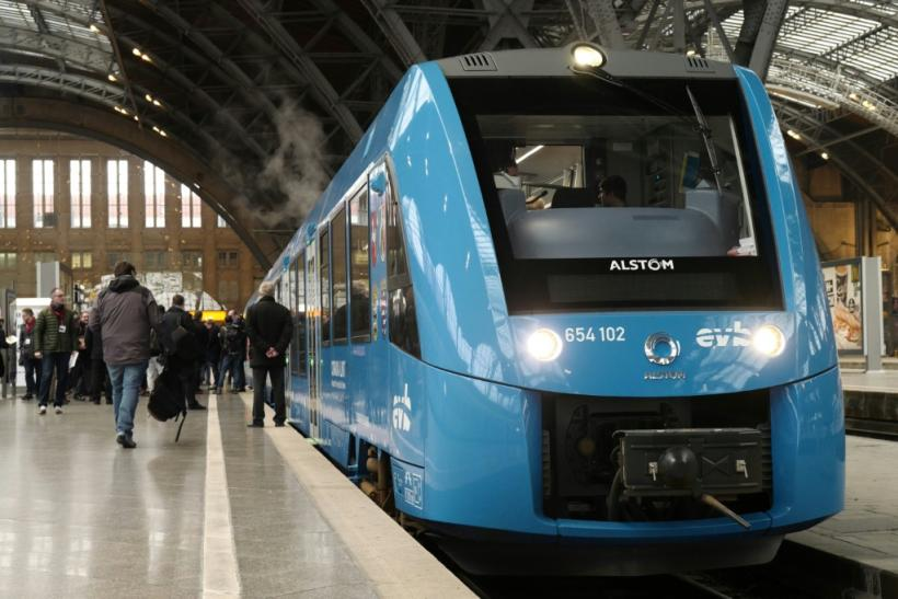 A hydrogen-powered train built by the French group Alstom is already in service in Germany