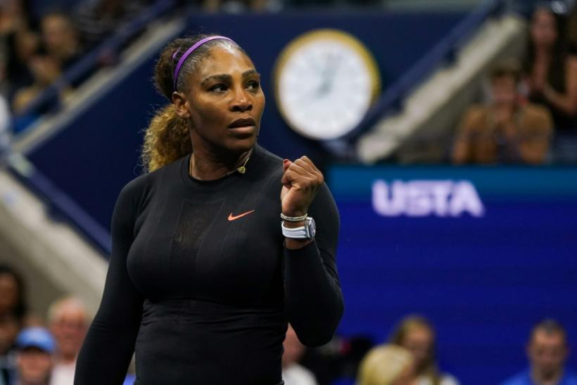 Serena Williams powered into a 38th Grand Slam semi-final at the US Open on Tuesday