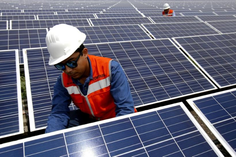 """Solar power has become more competitive because of """"spectacular"""" falls in the prices"""