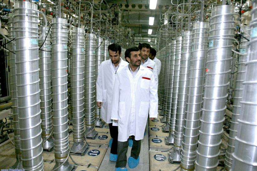 The restrictions on the use of advanced centrifuges at Iran's uranium enrichment facility in Natanz were intended to provide reassurances that Iran could not quickly develop a military capability if it abandoned the 2015 accord