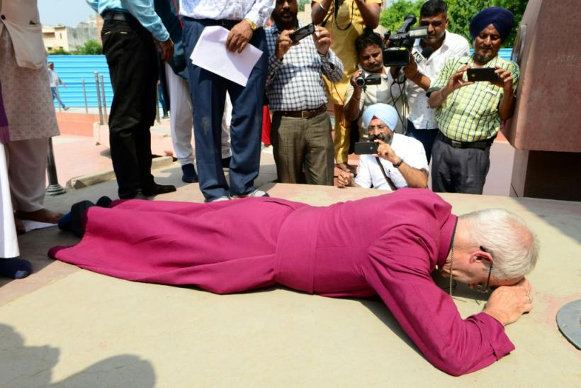 Archbishop of Canterbury Justin Welbypaid tributeto the hundreds of people killed at Amritsar in 1919