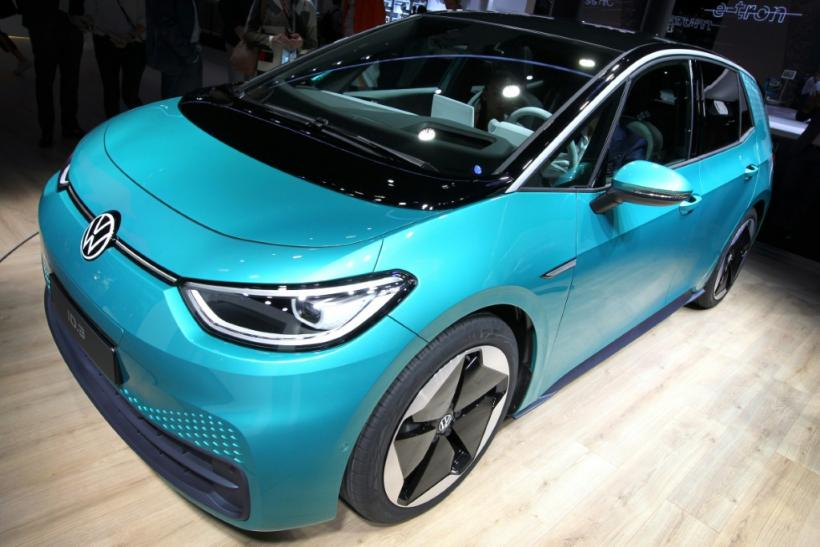 Volkswagen's ID.3 electric car is just one of the zero-emissions cars unveiled in Frankfurt