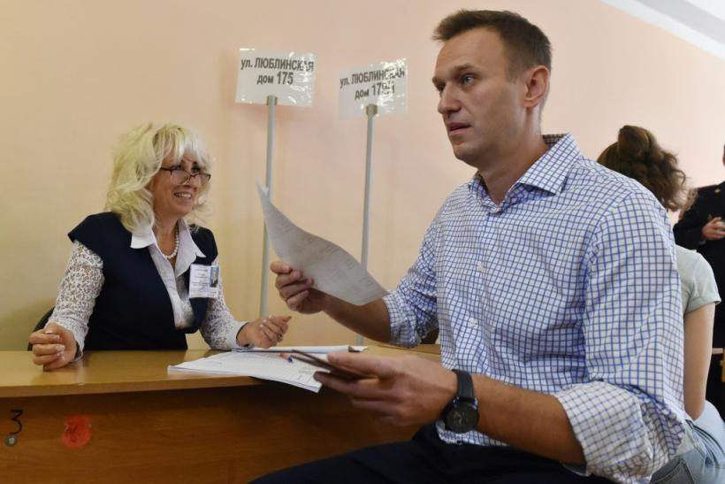 Navalny instructed supporters to vote strategically in the elecitons to block allies of Putin