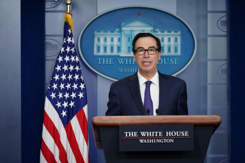 "US Treasury Secretary Steven Mnuchin said on CNBC he is ""cautiously optimistic"" about chances for a deal to resolve the conflict"
