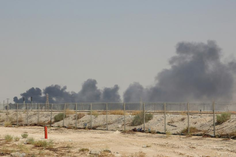 Saudi authorities say the fires are under control, seeking to ease concerns about any supply disruption from the world's top crude exporter