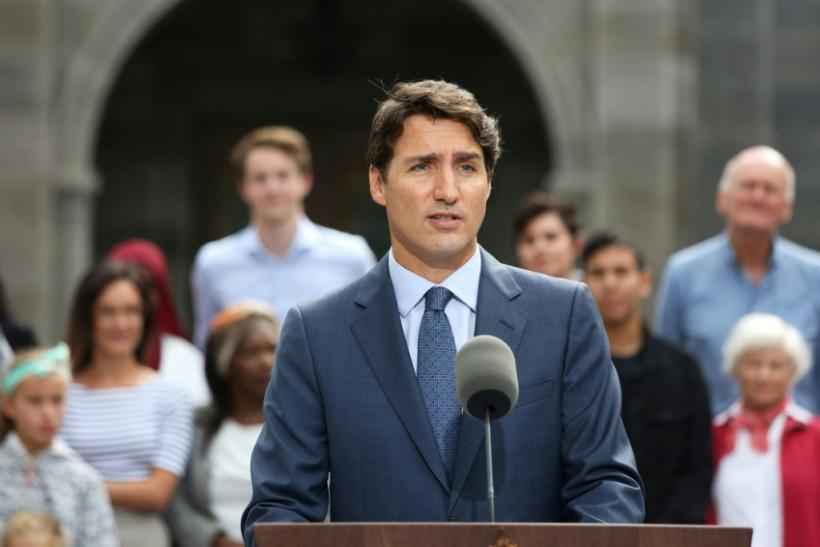 "Canada's Prime Minister Justin Trudeau (pictured September 11, 2019) told reporters that Canadian officials were taking the security breach ""very seriously"" and had reached out to allies to reassure them"