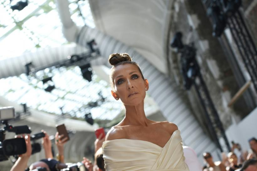 Celine Dion, pictured in July 2019, said that she felt motivated to create new music and hit the road after the death of her husband and manager Rene Angelil